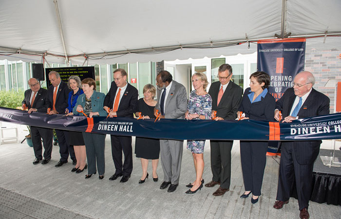 Dineen Hall opening ceremony